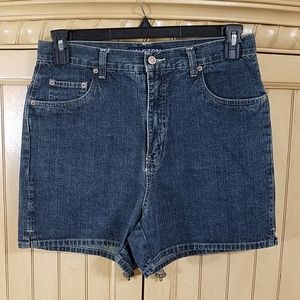 Halston Denim Shorts, sz 10